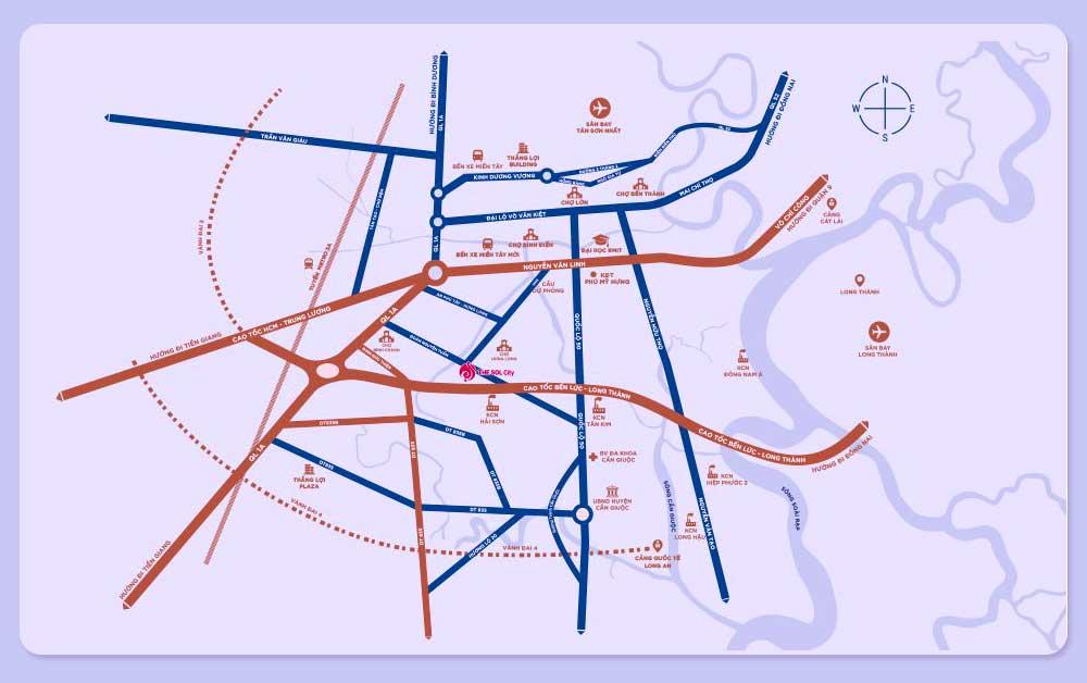 Bản đồ giao thương The SOL City