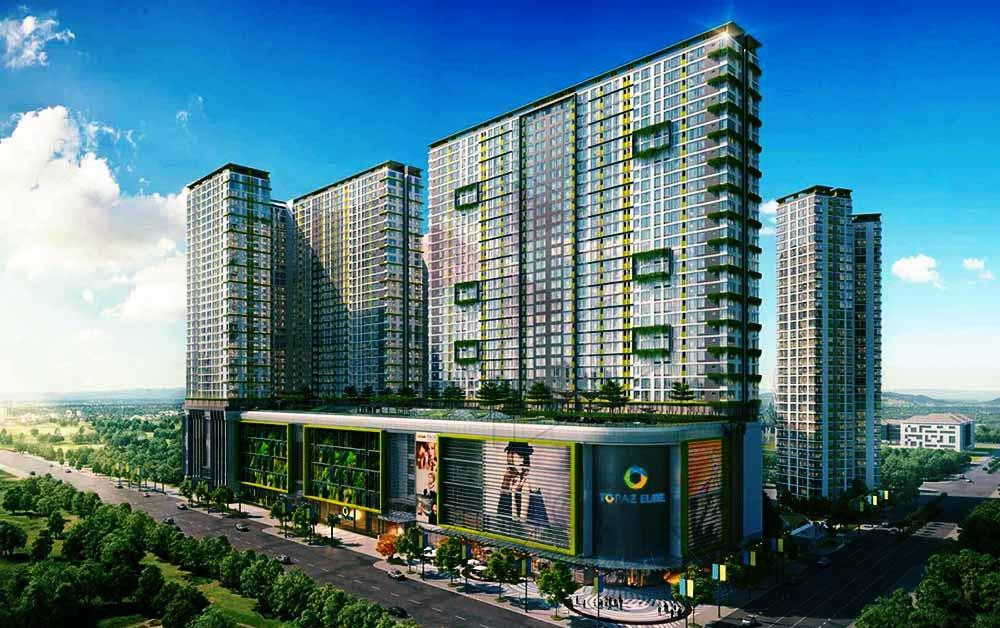 Dự án căn hộ Topaz Elite - Vạn Thái Land
