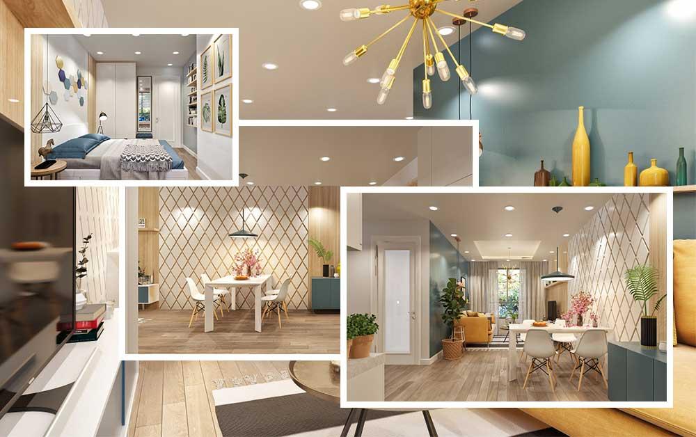 Thiết kế căn hộ Topaz Elite Quận 8 Vạn Thái Land