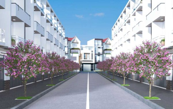 Crystal Town - Nhà phố liền kề xây sẵn khu dân cư Tên Lửa - Bình Tân 02