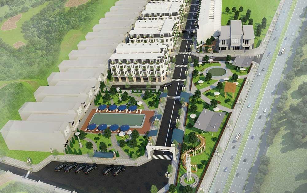 Tổng thể dự án Bảo Phú Residence An Phú Đông - Nhà phố liền kề Quận 12