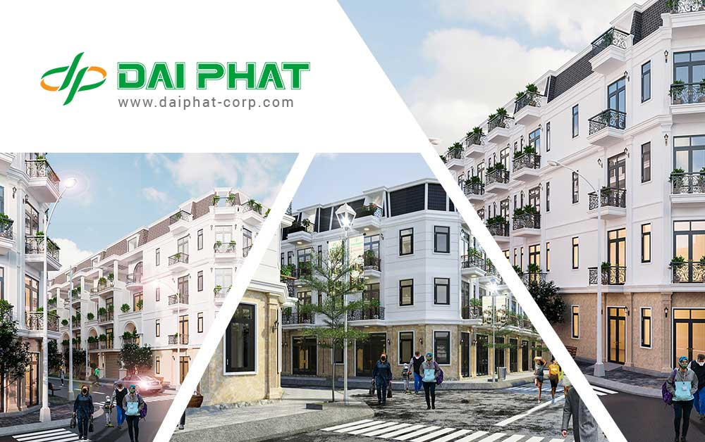 Các dự án nhà phố của Đại Phát