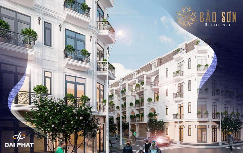 Nhà phố, biệt thự tại dự án